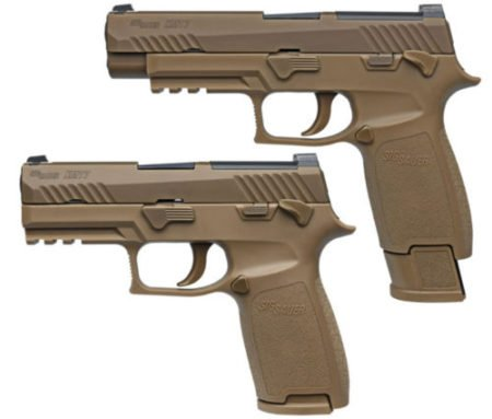 The U.S. Army's new handgun: Sig Sauer XM17.
