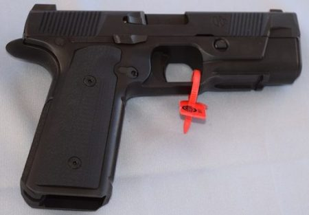The final Hudson H9 is fairly lightweight, with excellent grip and trigger.