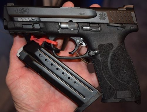 The M&P 2.0 9mm with its companion 17-round steel magazine.