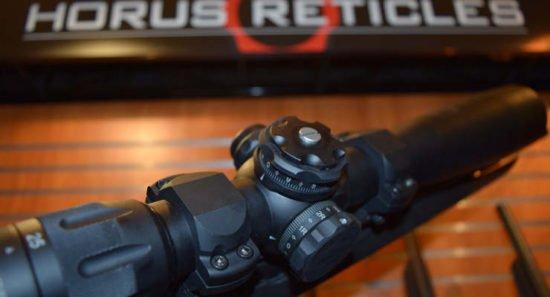 The new U.S. Optics B-Series scopes will have a Horus reticle option.