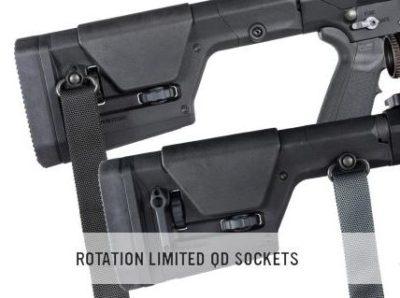 QD sling mounts offer versatile sling mounting options.