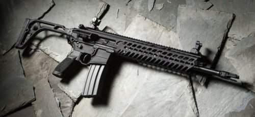 The MCX is Sig Suaers flagship gas-piston AR-15 variant.