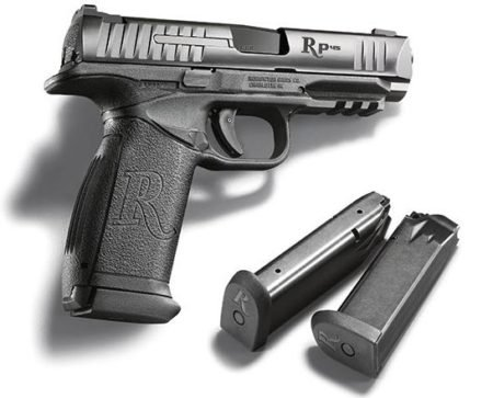 The Remington RP45 has an outstanding 15+1 capacity.