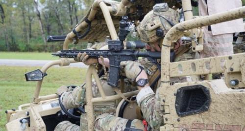 The Vortex Razor AMG UH-1 is designed for harsh use.