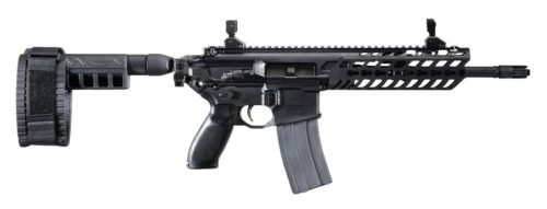 Sig Sauer MCX pistol version with arm brace attachment.