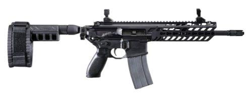 Sig Sauer MCX pistol version with arm brace attachment.