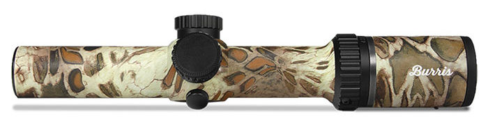 Burris scope with Prym camo