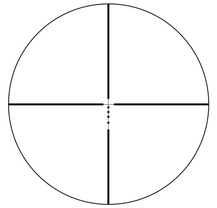 Bushnell Drop Zone-223 BDC reticle