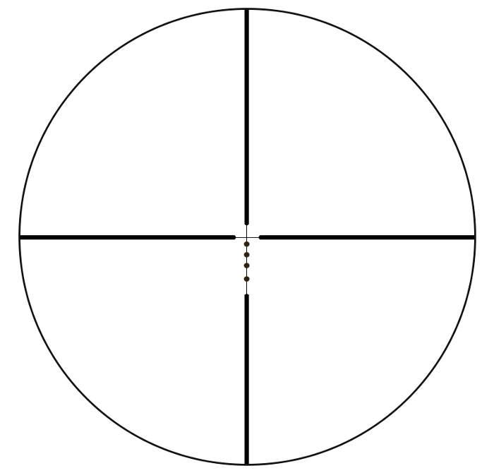 Bushnell Drop Zone-223BDC reticle