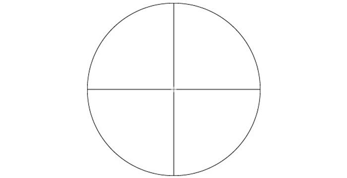 Vortex V-Plex reticle