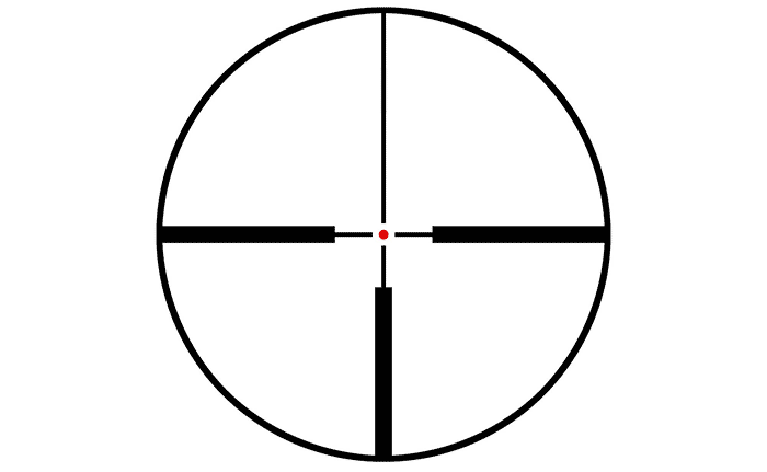 best reticle for 1-4x scope