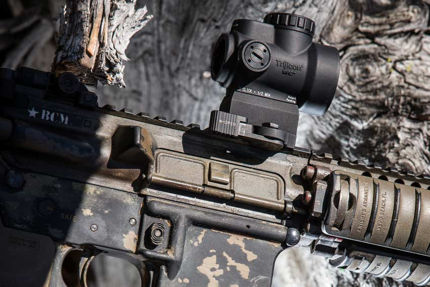 Trijicon MRO Mounted on BCM AR15