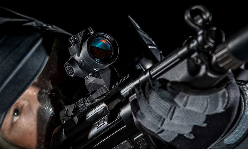 Trijicon MRO Mounted on HK MP5