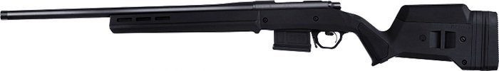 side view of the Remington 700 Magpul rifle