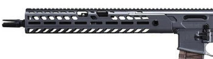 SIG SAUER uses M-LOK handguards on the Virtus rifles