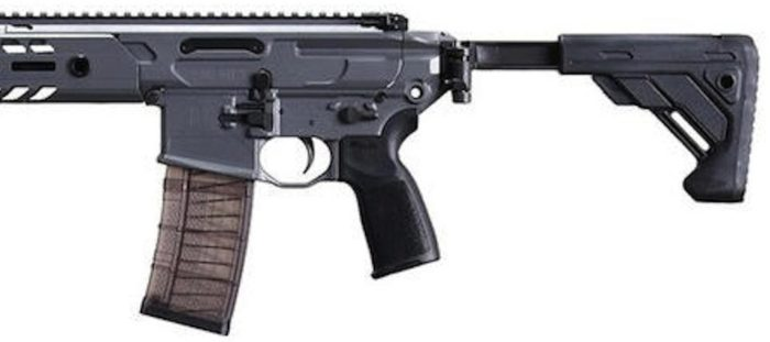 folding stock on the SIG SAUER Virtus rifle