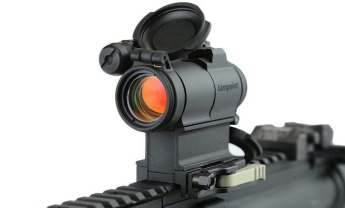 Adding Aimpoint M5 to AR15 rifle