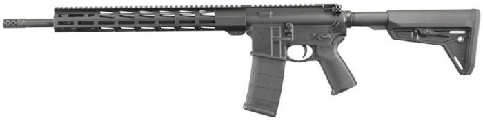 the Ruger AR-556 MPR