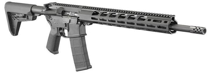 Ruger AR-556 MPR fitted with Magpul furniture