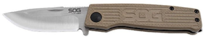 SOG Terminus with Tan Handle