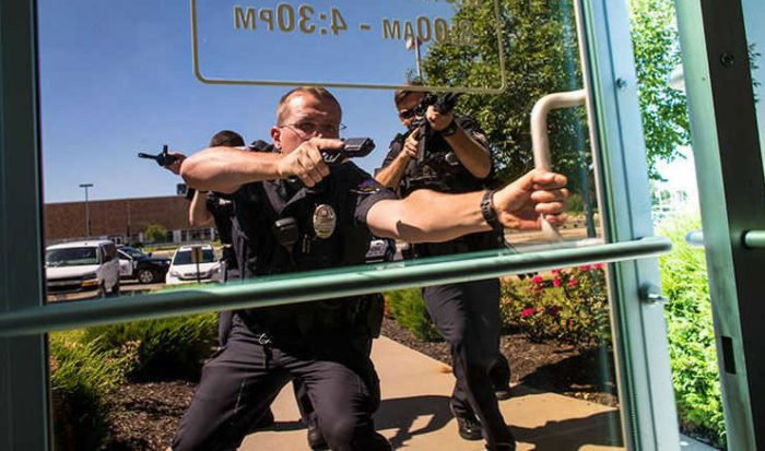 police response to active shooter