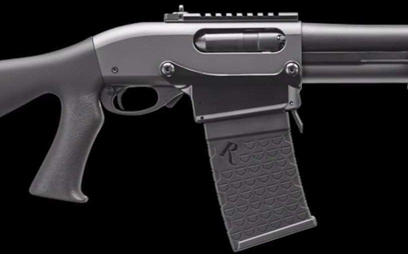 Close Up of the Remington 870 DM Receiver