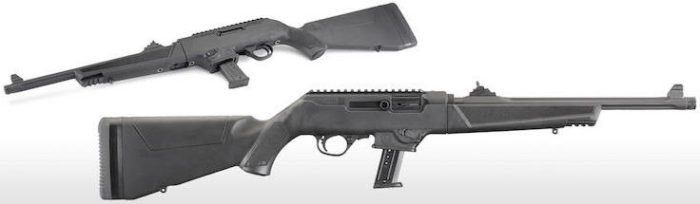 Ruger PC Carbine takes Glock 9mm magazines