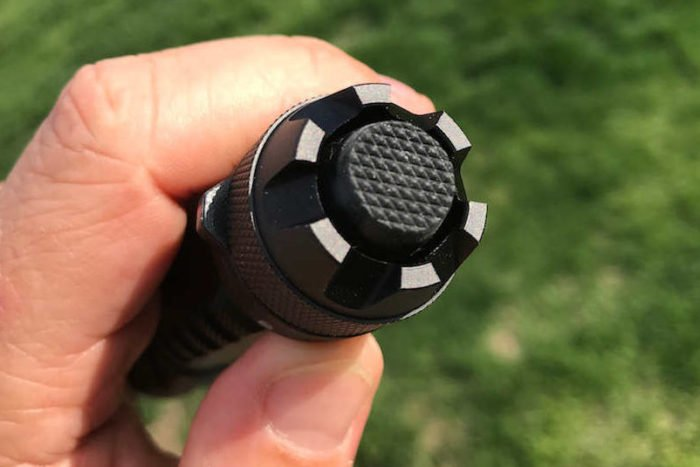 Bushnell Pro tail cap