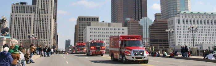 fire department response standards to spree killer
