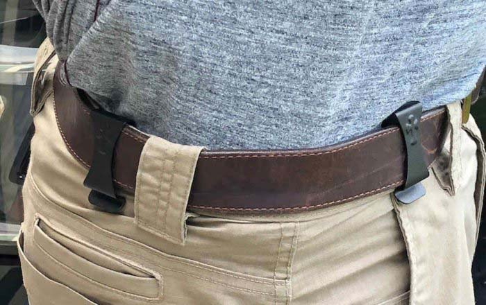 CrossBreed SuperTuck Holster Tucked In While Being Reviewed