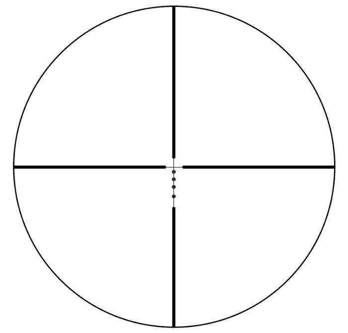 Bushnell AR Optics 1-4x24 BDC reticle