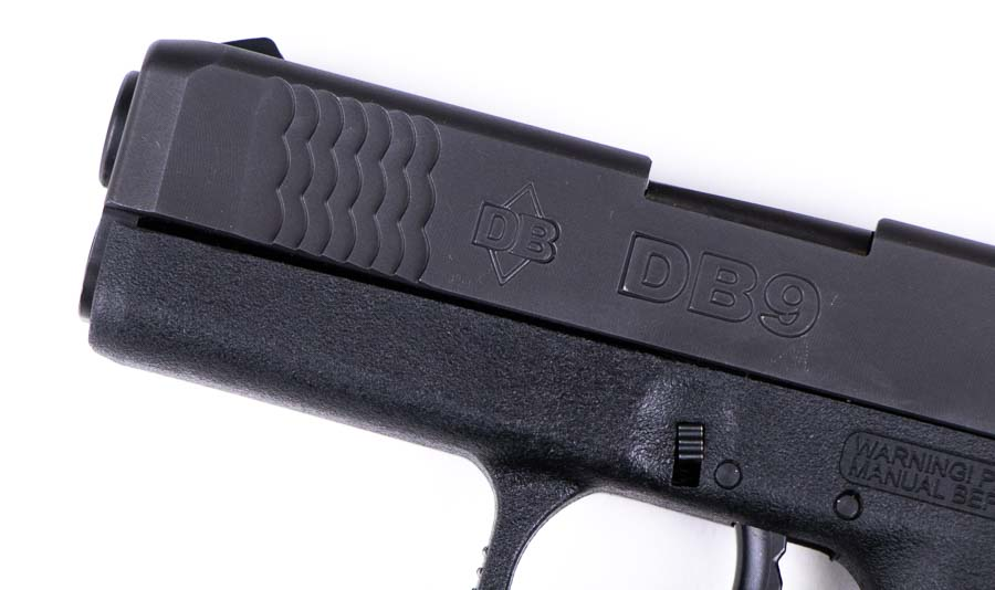 Scallopped Slide Serations on the Diamondback 9mm Subcompact Pistol