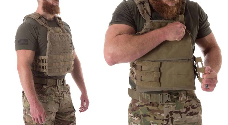 511 TacTec Plate Carrier for Police