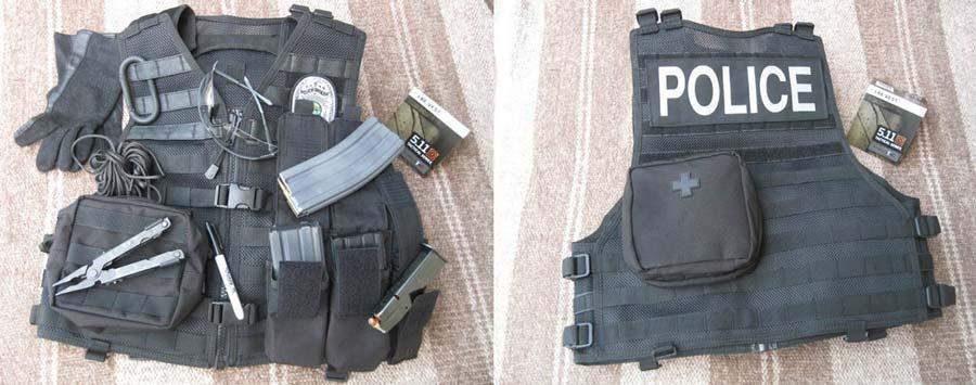 511 VTAC Bail Out Vest for Police
