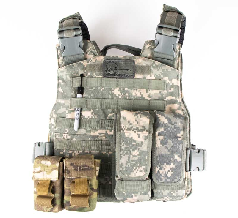 Active Shooter Bag Equipment Contents
