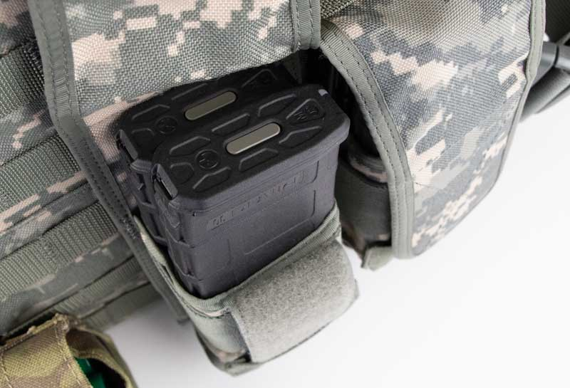 Drawing Magazines from Plate Carrier in Active Shooting