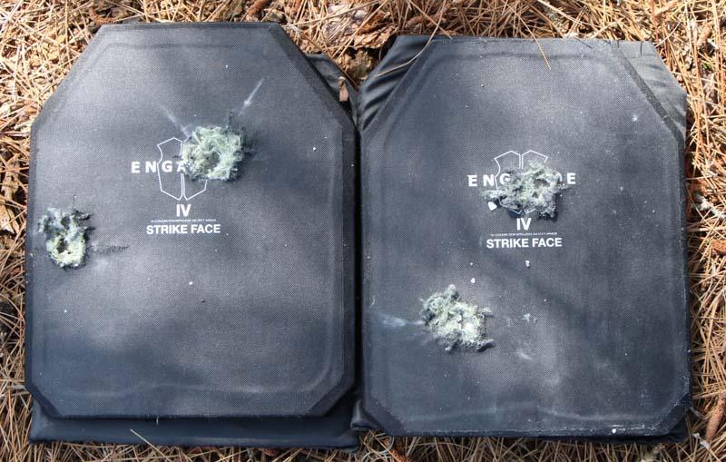 NIJ Ratings Testing Armor Plates