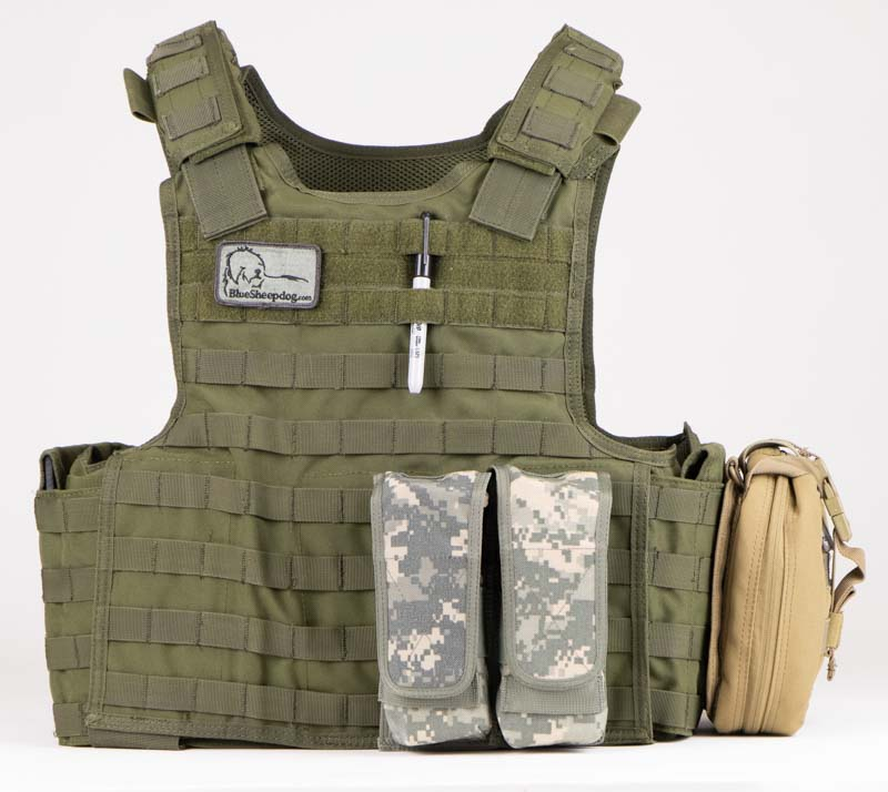 Plate Carrier for Police Officer Active Shooter Bag
