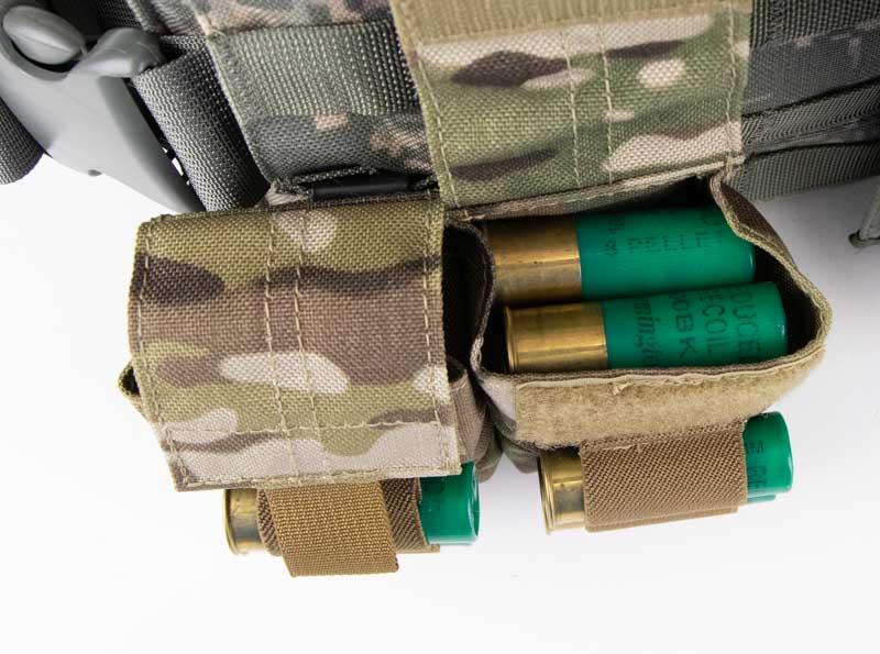 Shotgun Shell Pouches for Active Shooter Bag