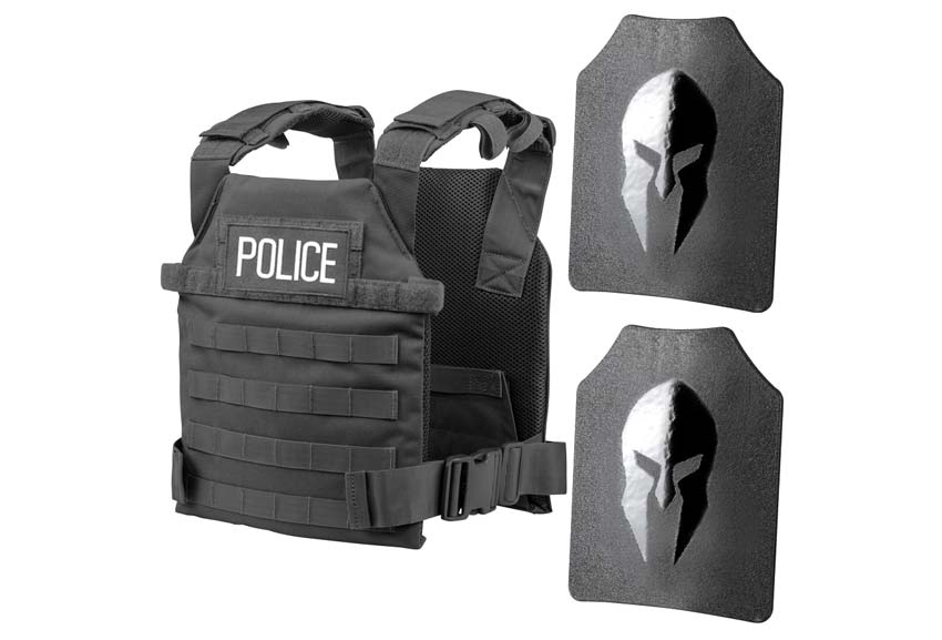 Spartan Armor Systems Actice Shooter Kit