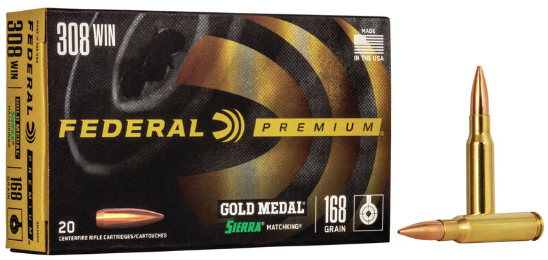 Federal Gold Medal Match Ammunition