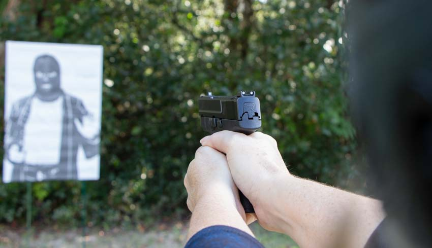 Smith and Wesson Shield Back Up Gun for Police